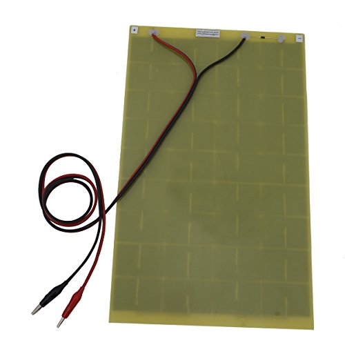 10Watt 18V Epoxy Solar Panel with Battery Clips Ideal For 12V Battery Charger For Car RV Boat Camping by ECO LLC (Image #3)