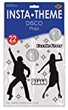 Disco Props Party Accessory (1 count) (22/Pkg)