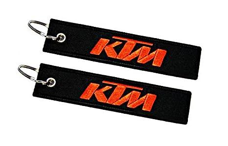 Moto Discovery Llavero Doble Cara para Modelos KTM (1 Pieza)