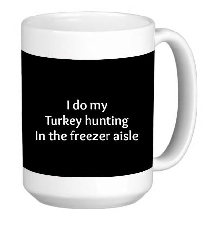 Turkey 15 Ounce Mug - 7