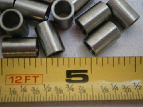 B6-14 3/16 Spacers .250'' OD .375'' Long .188'' ID Stainless LOT of - 10#4071 - Quality Assurance from JumpingBolt
