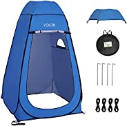 Hirynel Pop Up Privacy Shower Tent Portable Beach Tent Shade Outdoor Sun Shelter Camp Toilet Changing Dressing