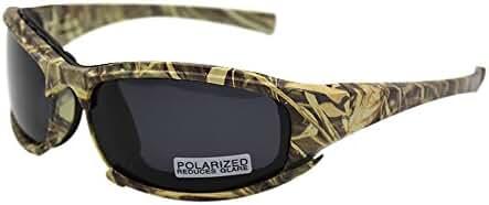 Polarized Daisy X7 Army Sunglasses, Military Goggles 4 Lens Kit Tactical Goggles