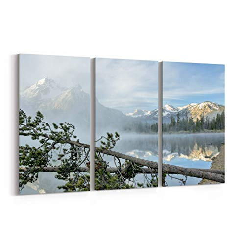 Stanley Lake Canvas Print Stanley Lake Canvas Art Stanley Lake Wall Art Canvas Multiple Sizes Gallery Wrapped Canvas on Pine Wooden Frame Idaho