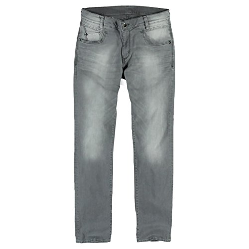 engbers Herren Jeans im modischen Silberton, 23120, Grau