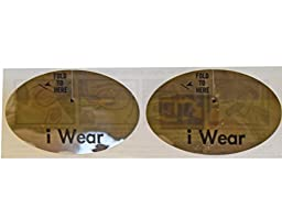I Wear Disposable Tanning Bed Eyewear - 250 Pairs Per Roll