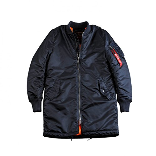Ma Jacke 1 Alpha Industries blue Coat Rep vFqH6Hw