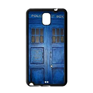Vintage Doctor Who Samsung Galaxy Note 3 Case Cover TPU Tardis Police Call Box