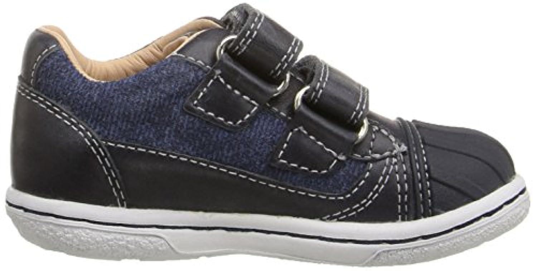Geox Baby Boys' B Flick B Walking Shoes, Blau (NAVYC4002), 20 UK