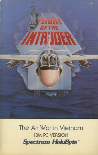 Flight of the Intruder the Air War in Vietman IBM PC Version Spectrum HoloByte
