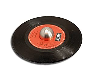 Single Schallplatten Puck halbrund Protected
