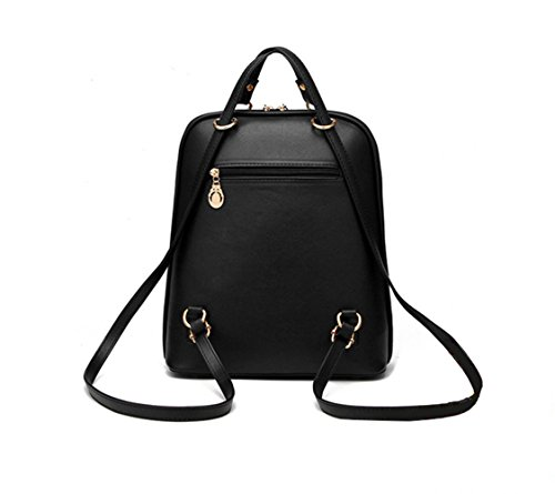 Black Wine Pu Outdoor Sports Rivet For Light Zhxuanxuan For Seasons Women Pink Covered Fall Blue Holiday Backpack All Shopping Bags Ruffles Formal Informal Event BSdwg