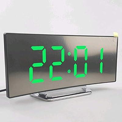 LOVIVER 2 Pezados de Despertador Digital Proyector ...