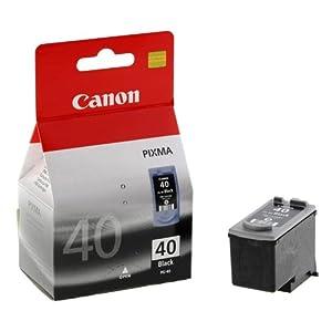 canon pg 40 pg40 40 inkjet cartridge black ref 0615b001 ip2200 ip1600 mp150 mp170 mp450. Black Bedroom Furniture Sets. Home Design Ideas
