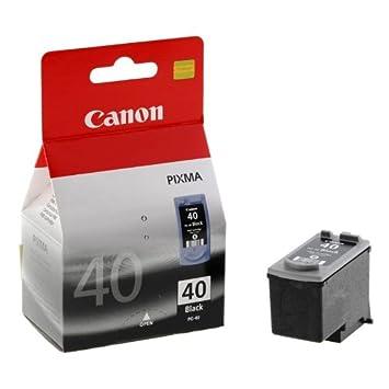 Canon PG-40 Negro cartucho de tinta - Cartucho de tinta para impresoras (Negro, iP1300, iP1600, iP1700, iP1800, iP1900, iP2200, iP2500, iP2600, JX200, ...