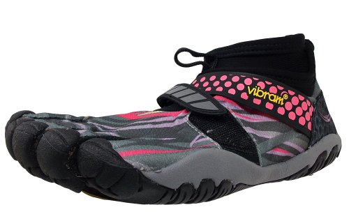 W6453 Vibram Gris Lontra Negro Rosa Fivefingers Running Mujer Sw4qE8F