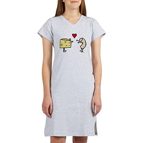 CafePress - Macaroni And Cheese Love Women39;S Nightshirt - Women's Nightshirt, Soft Long Pajama Shirt, Cotton PJs / Pyjamas -  1748178775
