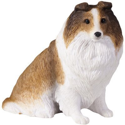 Shetland Sheepdog Figurine (Sandicast Sitting Shetland Sheepdog Figurine In Sable)