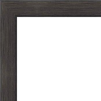 Amazon.com - 20x40 - 20 x 40 Contemporary Black Solid Wood Frame ...