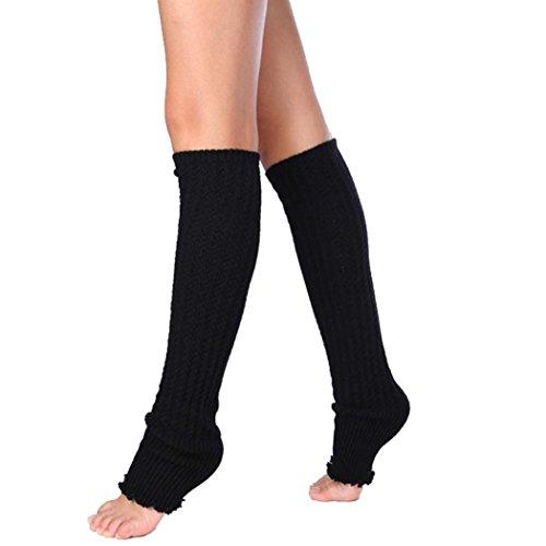 Socks Warmers Women's Winter Patchwork Stockings Leggings Womens Leg Black Lace Egmy qzTOXTw