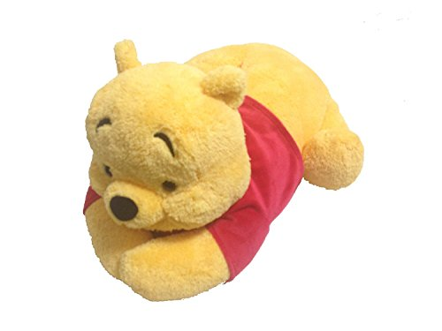 Winnie the Pooh stuffed animal tissue case tissue box cover front-facing [Tokyo Disney Resort Limited]