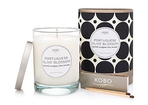 Kobo Candles Kobo Soy Candle, Portuguese Olive (Olive Blossom)