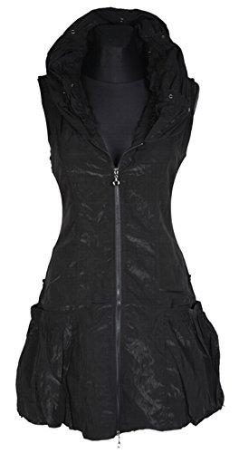 Grisodonna Style - Manteau sans manche - Veste - Femme gris gris