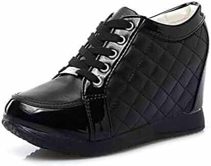 261c004e02 Shopping XinAndy - 8.5 - Black or Silver - Fashion Sneakers - Shoes ...
