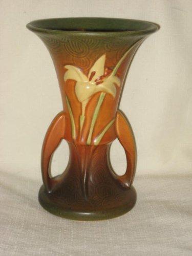 Amazon Vintage 1940s Roseville Pottery Zephyr Lily 7
