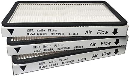 2PCS Sears Kenmore Vacuum Cleaner EF-1 HEPA Exhaust Filter EF1 # 86889