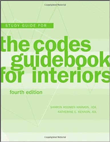 Study Guide The Codes Guidebook for Interiors