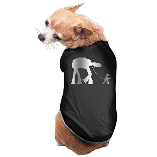 Imperial Walker Dog Costume For Sale (Black Imperial Walker Out For A W Platinum Style Pet Dog T-shirt Coat)