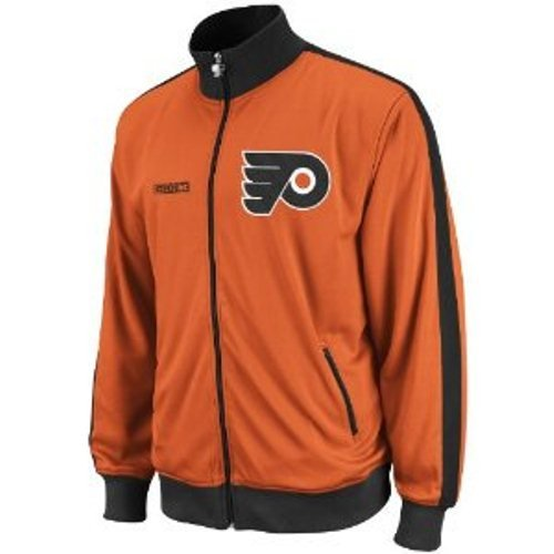 NHL Philadelphia Flyers Lord Stanley Track Jacket, Medium