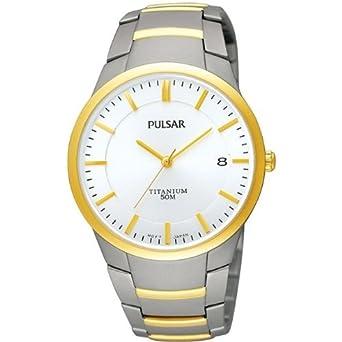 Pulsar Uhren Herren-Armbanduhr XL Modern Analog Titan PS9008X1