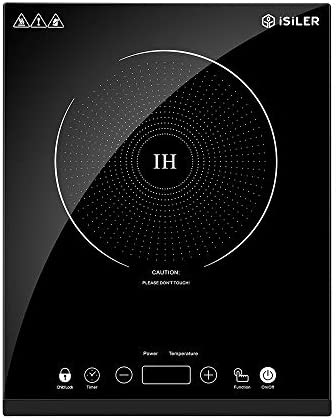 Portable Induction Cooktop, iSiLER 1800W