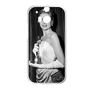 HTC One M8 Phone Case White Grace Kelly HJF678270