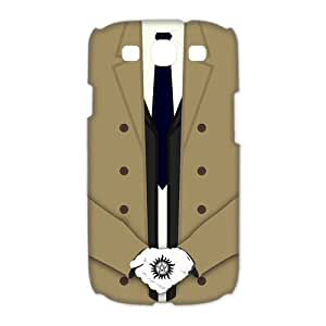 Custom Your Own Unique Supernatural castiel SamSung Galaxy S3 I9300 Cover Snap on Supernatural Galaxy S3 Case