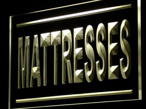 ADVPRO Mattresses Supplier Shop Display LED Neon Sign Yellow 24 x 16 Inches st4s64-j207-y - Mattress Neon Sign