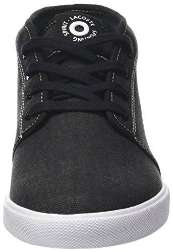 Lacoste Herren Ampthill 118 1 Cam Hohe Sneaker Schwarz (Blk/lt Tan)