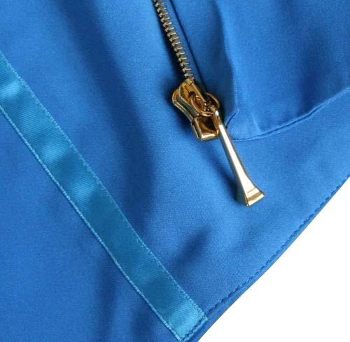 0905ae59ec4 Amazon.com  Gucci Women s Blue Silk Tube Corset Sleeveless Top 264013 (38)   Clothing