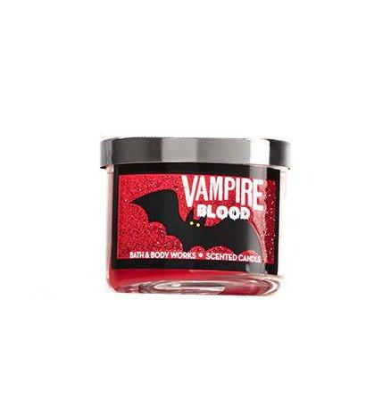 Bath & Body Works Mini Candle Halloween Vampire Blood Plum -