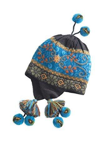 Tey-Art Nuestra Turquoise Fleece Lined Fair Trade Earflap Hat