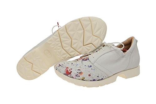 Think!6-86081-97 - zapatos con cordones Mujer Blanco - blanco