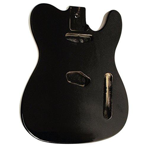 Golden Gate Guitar Bodies - Golden Gate S-301 Vintage T Style Electric Guitar Body - Black
