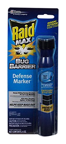 S C Johnson Wax 75139 Raid Bug Defense, 4-Ounce