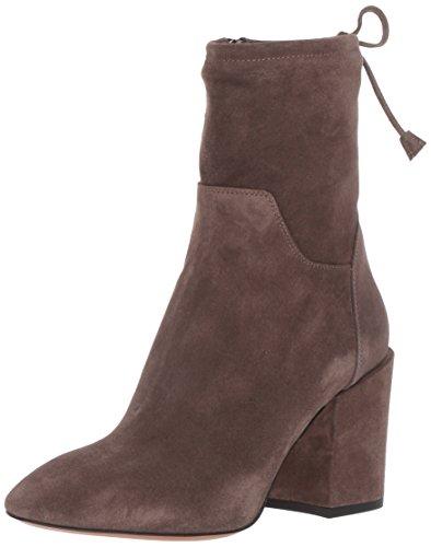 Aquatalia Womens Floria Suede Ankle Boot Anthracite