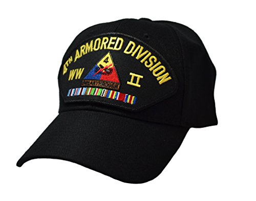 4th Armored Division - 4th Armored Division WWII Veteran Cap