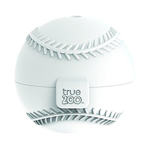 TrueZoo Baseball Silicone Ice Mold, White