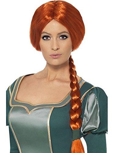 Ginger Ladies Smiffy's Shrek Princess Fiona Wig (Princess Fiona Dress)