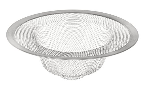 HIC Mesh Sink Strainer, 18/8 Stainless Steel, 4.5-Inches ()